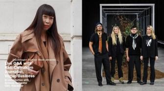 Live Q&A Holzweiler and Kati Chitrakorn, Vogue Business