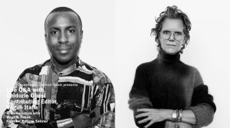 Live Q&A Rabens Saloner and Chidozie Obasi, Vogue Italia