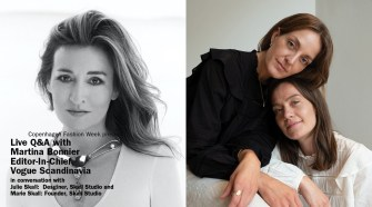 Live Q&A Skall Studio and Martina Bonnier, Vogue Scandinavia