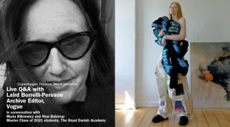 Live Q&A The Royal Danish Academy and Laird Borrelli-Persson, Vogue.com