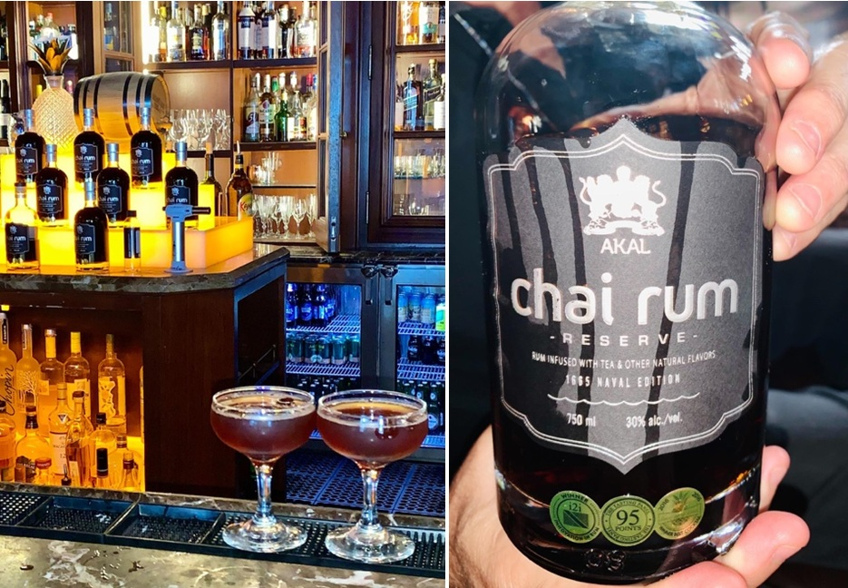 Welcome Chai Rum cocktail at RumBar