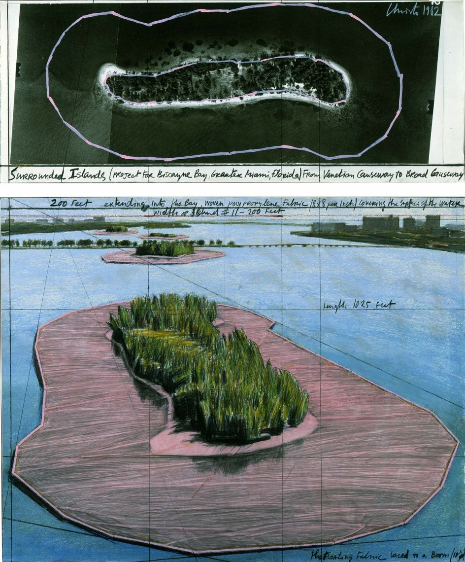 Christo, Surrounded Islands (Project for Biscayne Bay, Greater Miami, Florida) #51