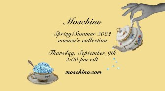 """""""Ladies who lunch"""" - Moschino Spring Summer 2022 fashion show"""