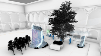 Pininfarina Architecture unveils a climate responsive installation at Milan Design Week 2021