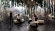 Pininfarina Architecture curates a contemplative wellbeing installation at CERSAIE 2021