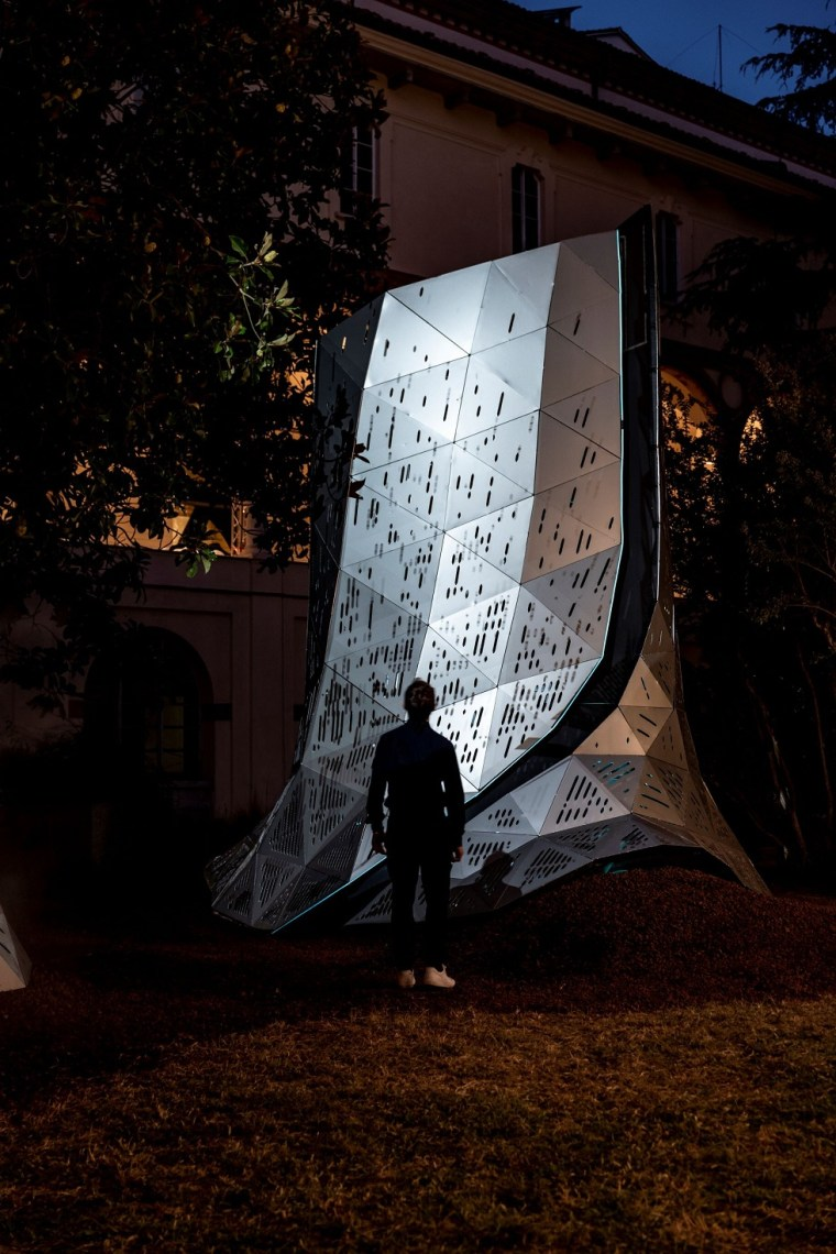 URBAN LOUNGE   Pininfarina Architecture unveils a climate-responsive installation at Milan Design Week 2021