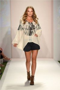 Beach Freedom Glides Gorgeously Down the Runway at SWIMMIAMI 31