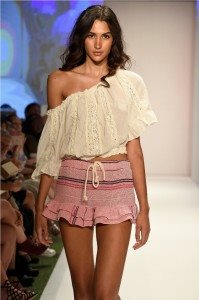 Beach Freedom Glides Gorgeously Down the Runway at SWIMMIAMI 15