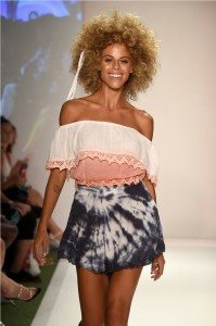 Beach Freedom Glides Gorgeously Down the Runway at SWIMMIAMI 13