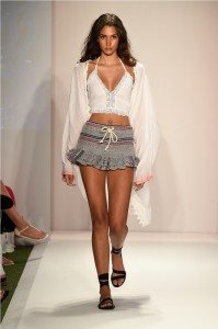 Beach Freedom Glides Gorgeously Down the Runway at SWIMMIAMI 3