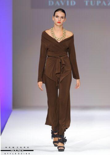 David Tupaz runway show at Style Fashion Week 79