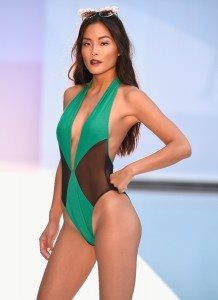 Filthy Haanz Takes Swim Week on a Jewel-Toned Journey 47