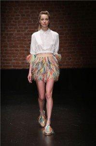 "Meltem Ozbek has introduced her Spring/Summer 2017 collection ""Lady Bird"" 11"