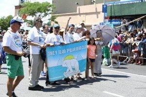 The 34th Annual Mermaid Parade with Queen Mermaid Hailey Clauson 17