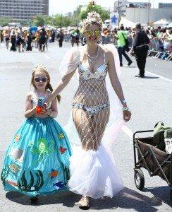 The 34th Annual Mermaid Parade with Queen Mermaid Hailey Clauson 35