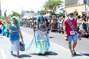 The 34th Annual Mermaid Parade with Queen Mermaid Hailey Clauson 43