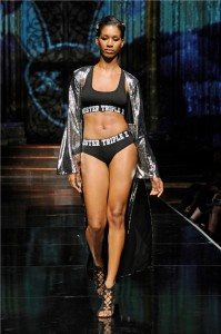 Mister Triple X featuring L.A.M.B. by Gwen Stefani at NYFW The Shows 1
