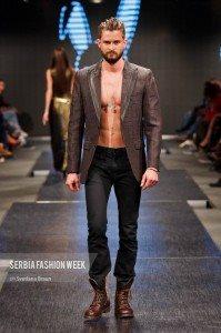Mister Triple X Serves Sexy to Serbia Fashion Week 53