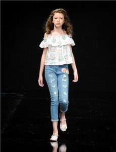 Monnalisa Runway Wearing 15