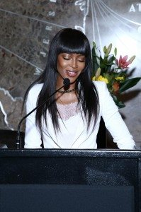NAOMI CAMPBELL-RED NOSE DAY 45