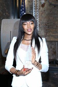 NAOMI CAMPBELL-RED NOSE DAY 29
