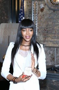 NAOMI CAMPBELL-RED NOSE DAY 27