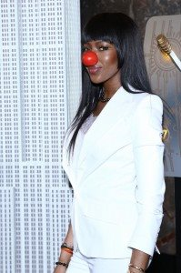 NAOMI CAMPBELL-RED NOSE DAY 9