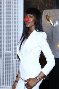 NAOMI CAMPBELL-RED NOSE DAY 7