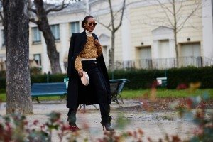 Paris Fashion Week FW16 Street Style 55