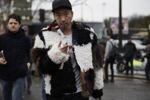Paris Fashion Week Mens FW16 Street Style 45