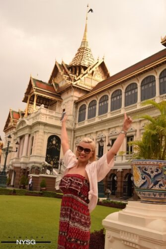 The Famous Grand Palace in Bangkok Thailand 1