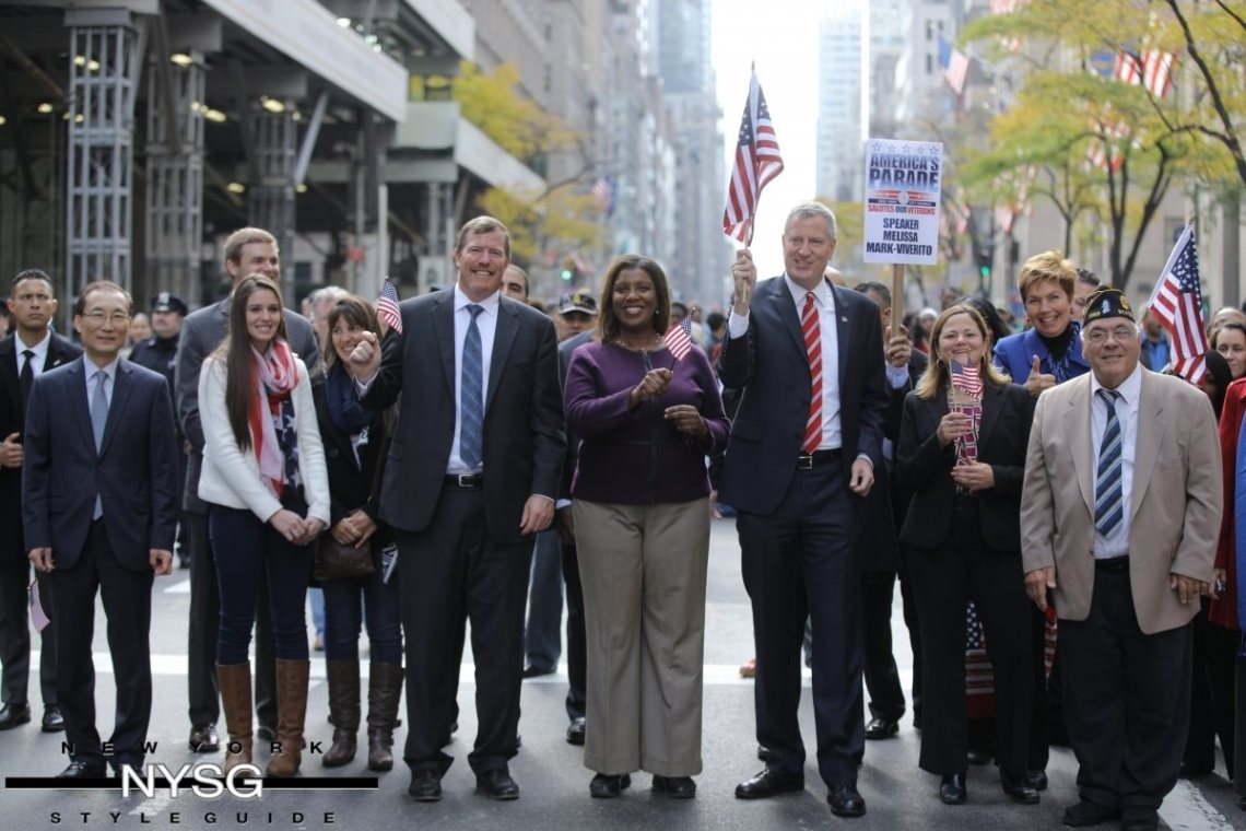 Veterans Day Parade - November 2014 - on 5th Avenue - NYC 3