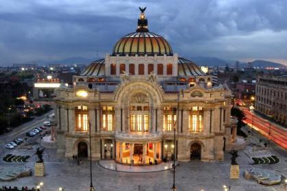 Palacio de Las Bellas Artes, in Mexico City
