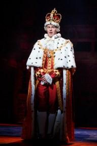 Jonathan Groff as King George III in Hamilton