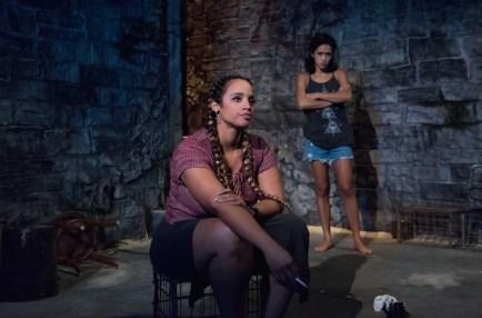 Dascha Polanca as Malena and Yadira Guevara Prip as Isis