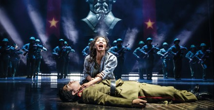 Miss Saigon 8 Eva Noblezada and Devin Ilaw