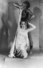 Portrait of Martha Graham and Bertram Ross, 1961