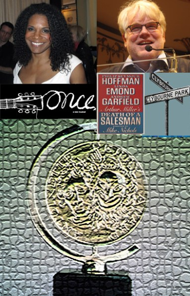 Philip Seymour Hoffman, Audra McDonald, Clybourne Park, Death of A Salesman, Once are all worthy nominees at 2012 Tony Awards