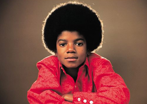 Michael Jackson in his Jackson 5 days