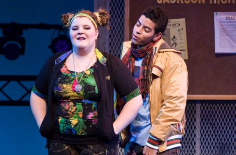 Bring It On the Musical with Ryann Redmond as Bridget and Nicolas Womack as Twig, a comic couple