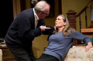 Tracy Letts and Amy Morton in Who's Afraid of Virginia Woolf