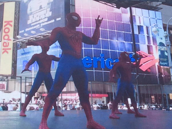 Spider-Man performance at 2012 Broadway on Broadway