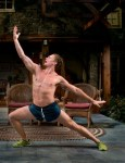 Billy Magnussen (Spike) in Vanya and Sonia and Masha and Spike by Christopher Durang at Lincoln Center