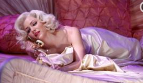 """Smash: Katherine McPhee playing  Broadway performer Karen Cartwright in the fake musical about Marilyn Monroe """"Bombshell,"""" which now has a real cast album."""