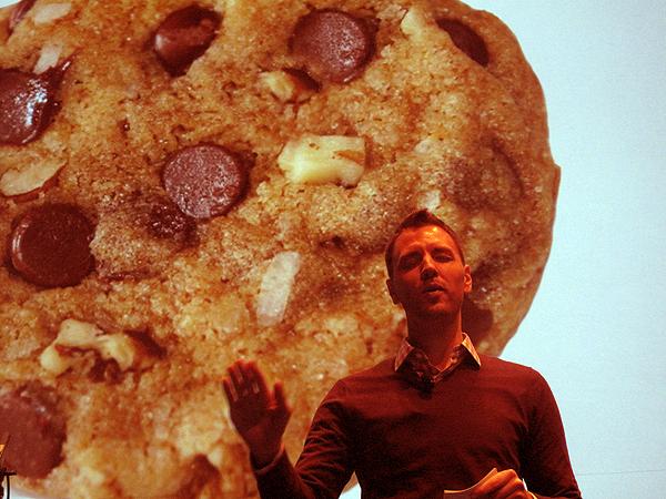 Zachary Schmahl of Schmackary's Cookies