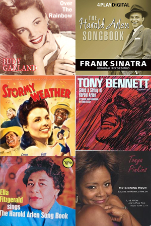 Many singers have devoted albums to the music of Harold Arlen