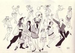 Al Hirschfeld drew his first-ever theater cartoon of Julie Andrews in 1955, starring in The Boyfriend