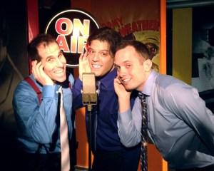 The Three Crooners sing Harold Arlen: Marcus Goldhaber, George Bugatti, Joe Shepherd