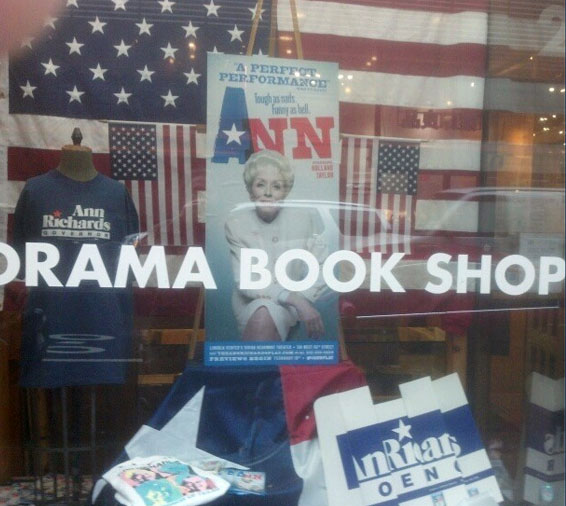 Ann window display