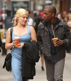 Megan Hilty and Leslie Odom Jr.,in Smash